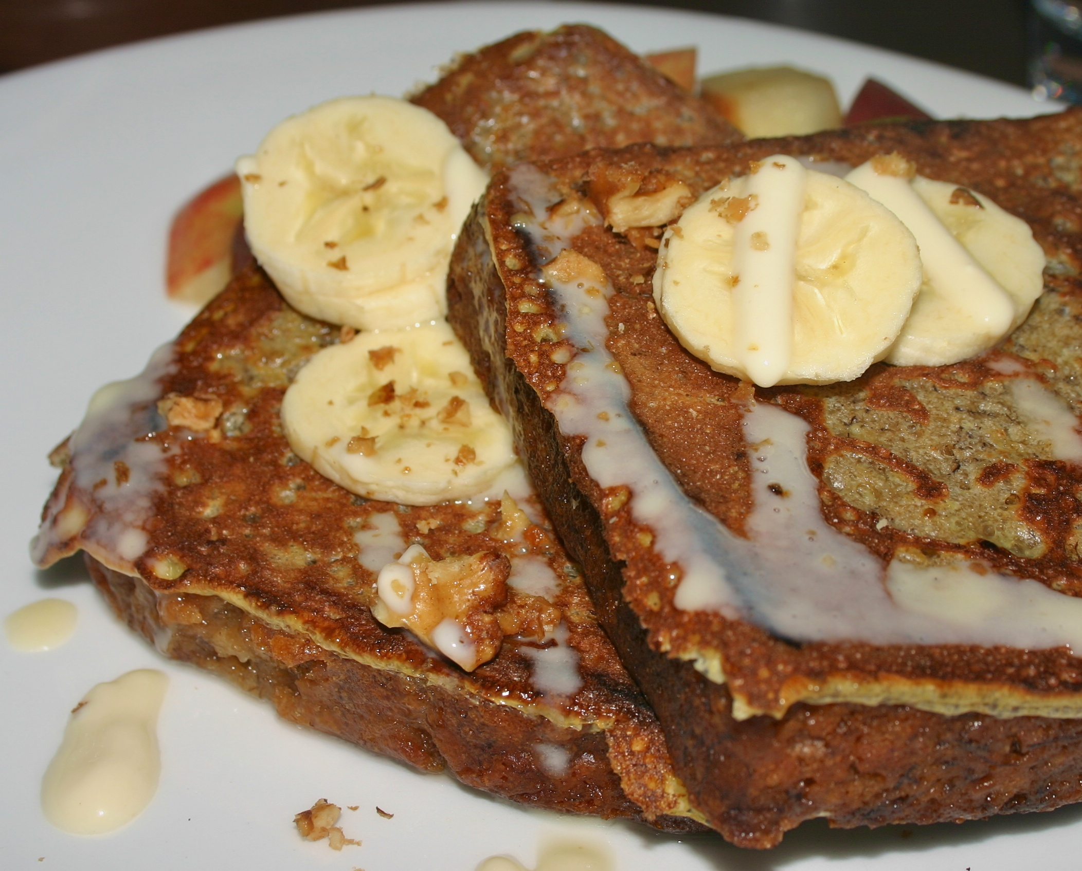 Root Down banana bread French toast 2010 – Beth Partin: Restore and ...