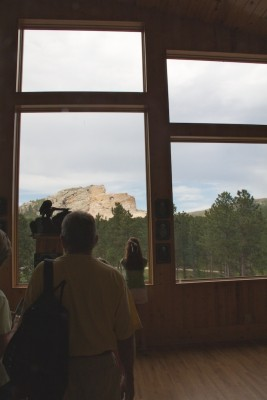 Crazy Horse through window July 2011 (1)