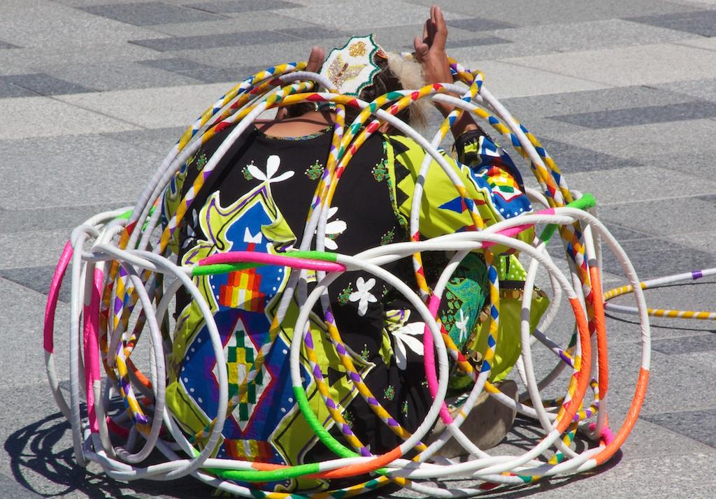 Mount Rushmore Jasmine Pickner hoop dance 3 July 2011 (1)