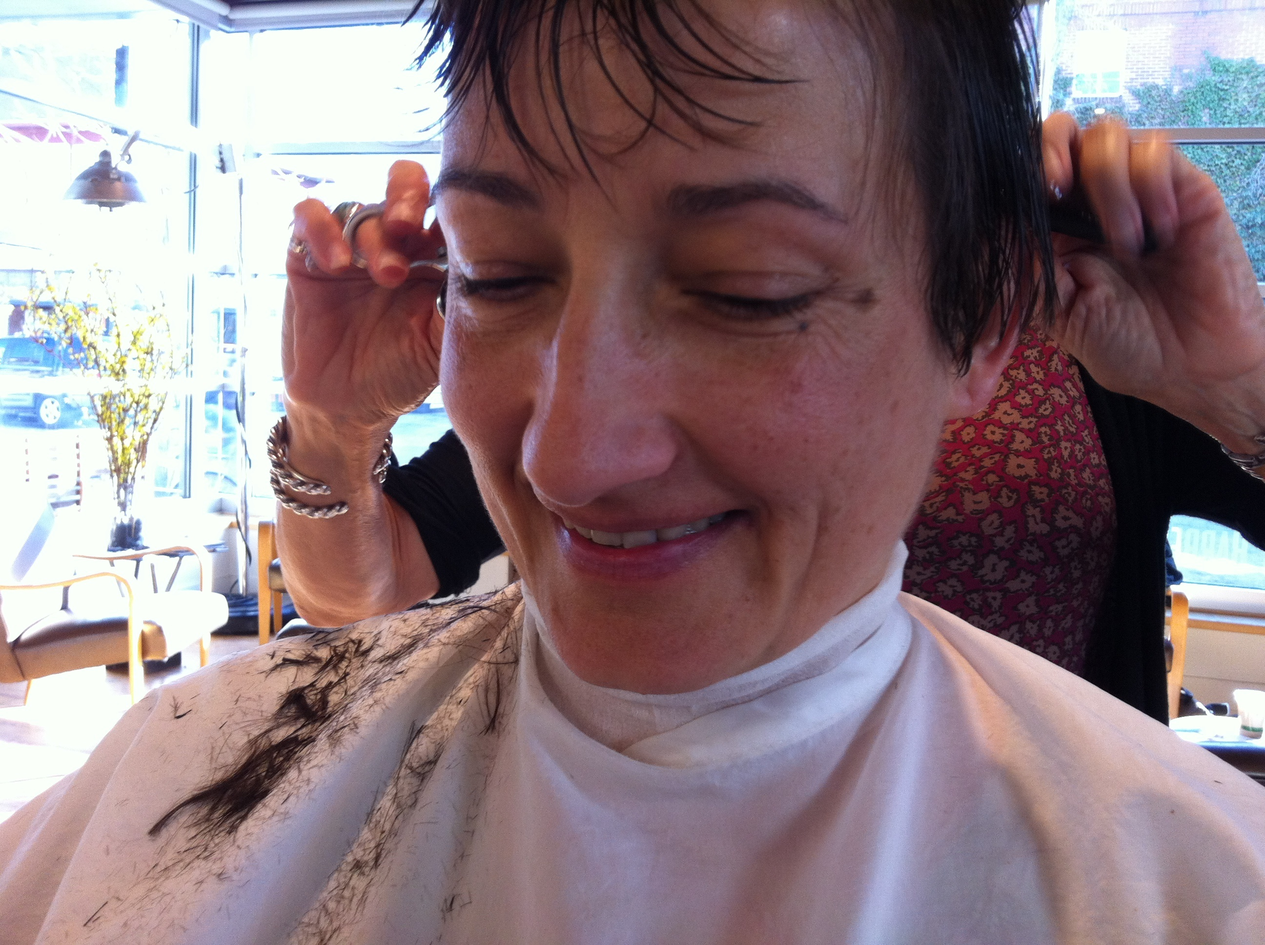 Flat Top Haircut Women Al's barbershop boulder, women