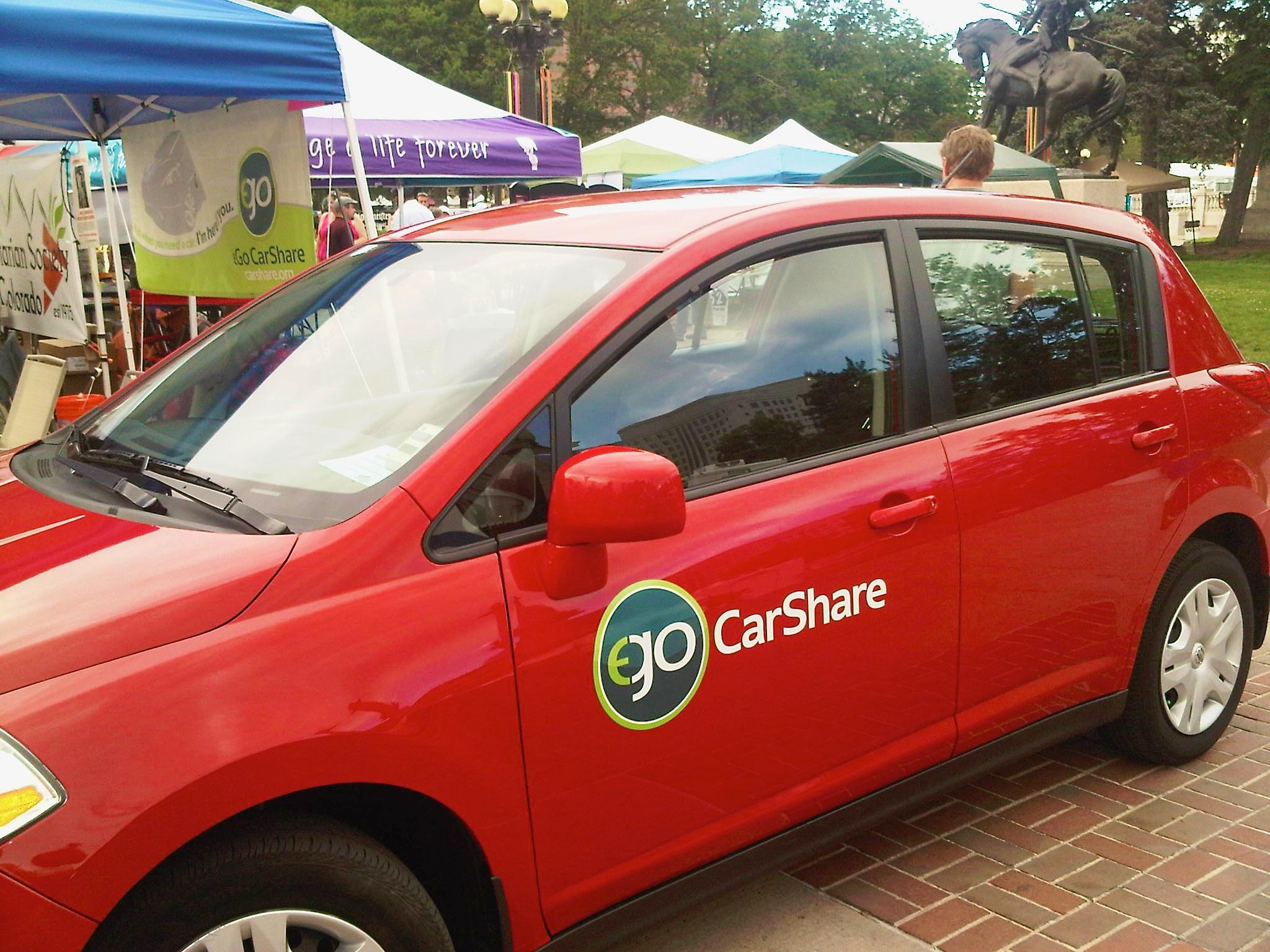 Ego Car Share - Peoples Fair  Ego Carshare Denver Beth Partin