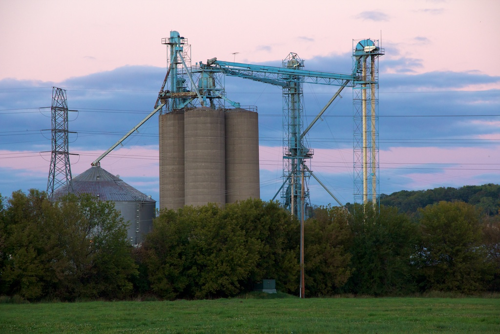 corn elevator, Dubuque, Beth Partin&#039;s photos