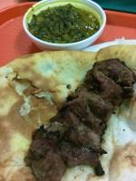 Charcoal Kabob, naan, lamb