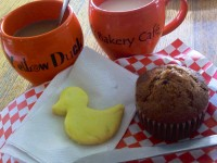 Yellow Duck Bakery Cafe breakfast fall 2012