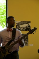 Vintage 3D bass 5 Points Jazz Fest May 2014