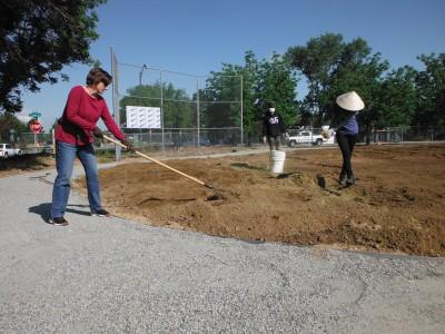 Beth at McGlone Elementary Groundwork Denver DSCF1913