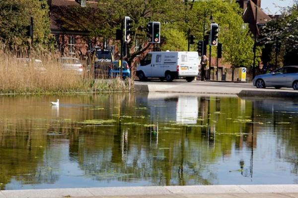 Hampstead Heath Drive-In Watering Hole, London, April 2014 (1)