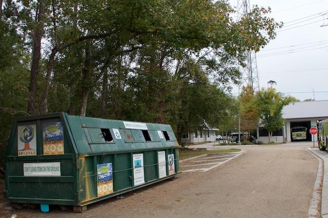 Recycling on the North Shore, Louisiana